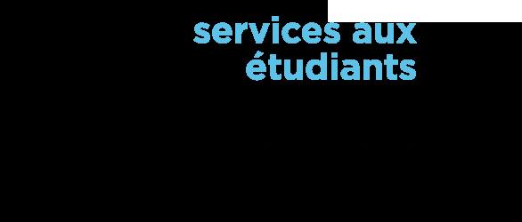 Logo service aux étudiants